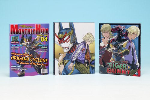 Image 3 for Tiger & Bunny 4 [Blu-ray+CD Limited Edition]