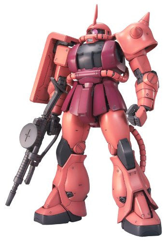 Image 2 for Kidou Senshi Gundam - MS-06S Zaku II Commander Type Char Aznable Custom - MG - 1/100 - Ver. 2.0 (Bandai)