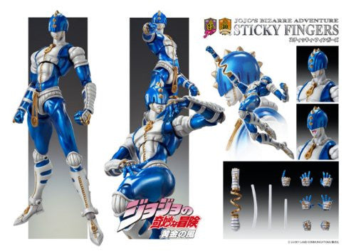 Image 5 for Jojo no Kimyou na Bouken - Vento Aureo - Sticky Fingers - Super Action Statue #32 (Medicos Entertainment)