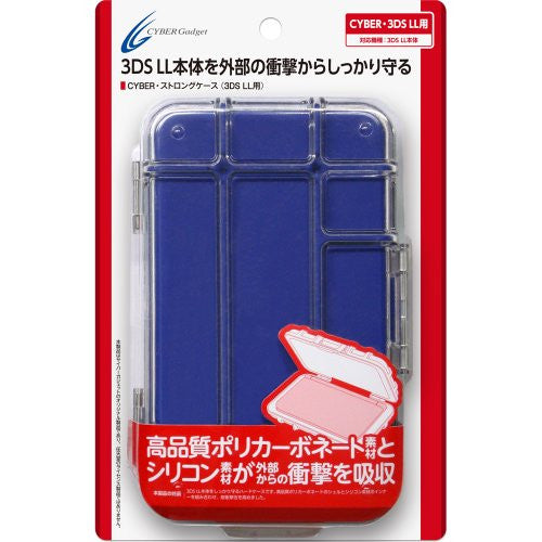 Image 3 for Strong Case for 3DS LL (Blue)