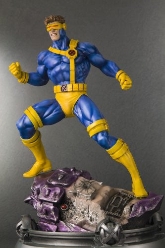 Image 4 for X-Men - Cyclops - Fine Art Statue - 1/6 - Danger Room Sessions (Kotobukiya)
