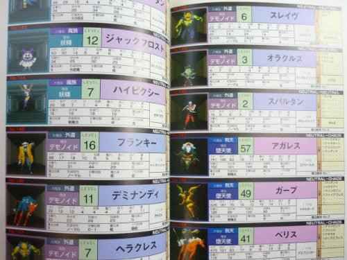 Image 4 for Shin Megami Tensei: 2 Strategy Guide Book / Snes