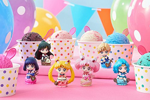 Image 9 for Petit Chara Land Bishoujo Senshi Sailor Moon Ice Cream☆ Party Set