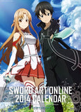 Thumbnail 1 for Sword Art Online - Wall Calendar - 2014 (Try-X)[Magazine]