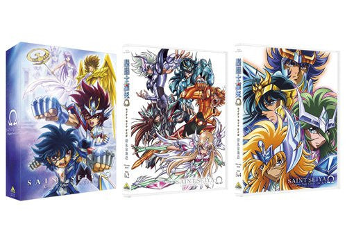 Image 3 for Saint Seiya Omega New Cloth Hen Blu-ray Box