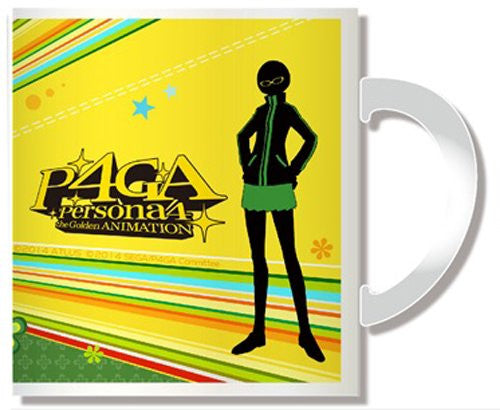 Image 2 for Persona 4: the Golden Animation - Satonaka Chie - Mug (Penguin Parade)