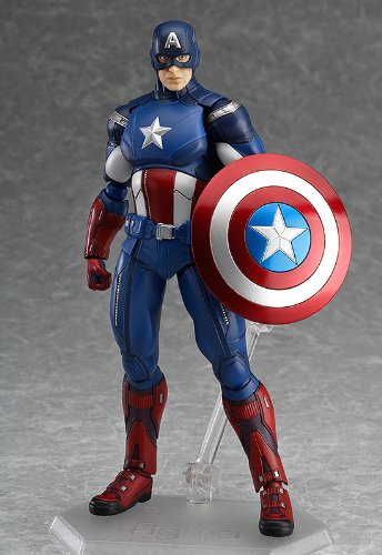 Image 2 for The Avengers - Captain America - Figma #226 (Max Factory)