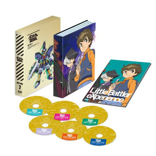 Image 1 for Little Battlers Experience / Danboru Senki DVD Box 2