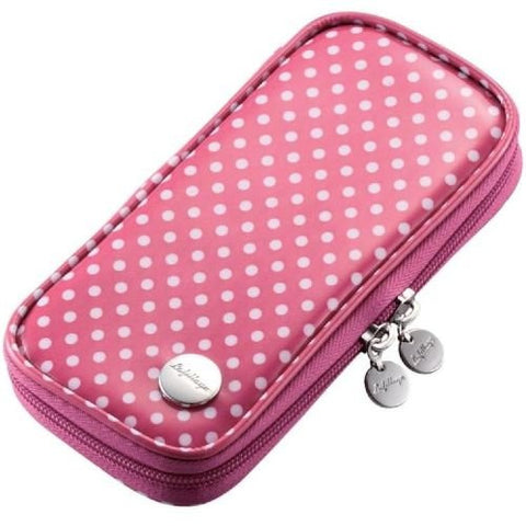 Image for PSP Vinyl Coating Case (Pink Dot)