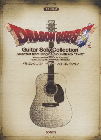 Image for Dragon Warrior (Quest) Guitar Best Collection Tab Sheet Music Collection Book