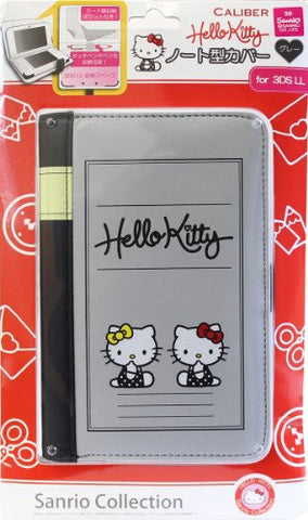 Image for Hello Kitty Note Cover for 3DS LL (Gray)