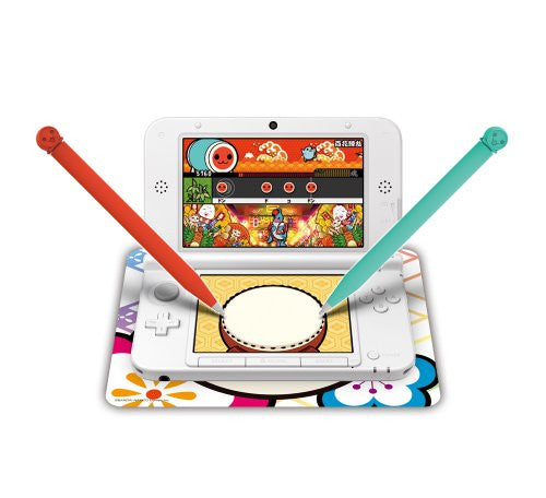 Image 3 for Taiko no Tatsujin Bachi Pen DX Set for 3DS LL