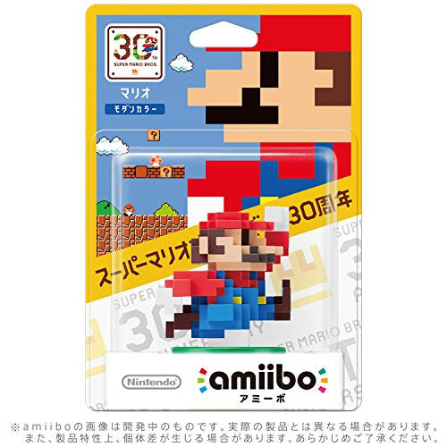 Image 2 for Super Mario Brothers - Mario - Amiibo - Amiibo Super Mario Bros. 30th Series - Modern Colour (Nintendo)