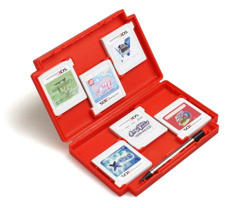 Image 4 for Retro Game Card Case for 3DS (Red)