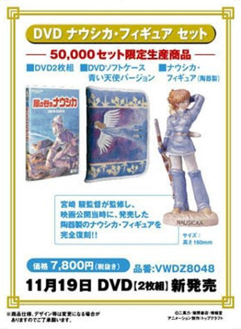 Image 2 for Kaze no Tani no Naushika Nausicaa Figure Set [Limited Edition]