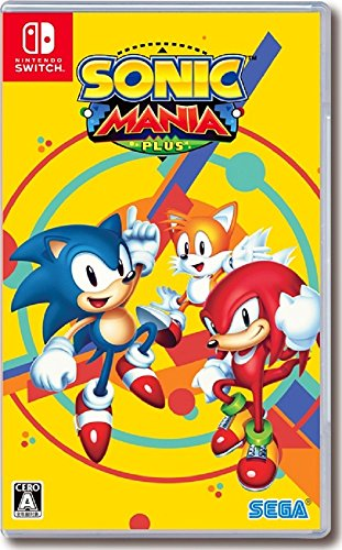 Sonic Mania Plus Limited Edition Nintendo Switch
