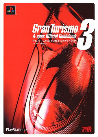 Image for Gran Turismo 3 A Spec Official Guide Book The Best Navigator / Ps2