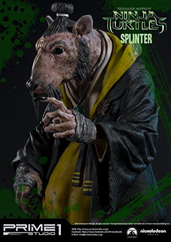 Image 9 for Teenage Mutant Ninja Turtles (2014) - Splinter - Museum Masterline Series MMTMNT-05 - 1/4 (Prime 1 Studio)