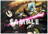 Thumbnail 2 for Sword Art Online II - Sinon - Kirito - Poster - Clear Poster (flagments)