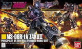 Thumbnail 6 for Kidou Senshi Gundam - MS-06R-1A Zaku II High Mobility Type - HGUC #151 - 1/144 - Black Tri-Stars Version (Bandai)