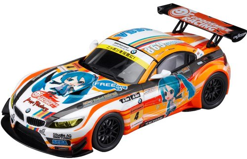 Image 1 for GOOD SMILE Racing - Project Mirai - Vocaloid - Hatsune Miku - Itasha - Project Mirai BMW 2012 - 1/32 - Season Opening ver. (Good Smile Company)