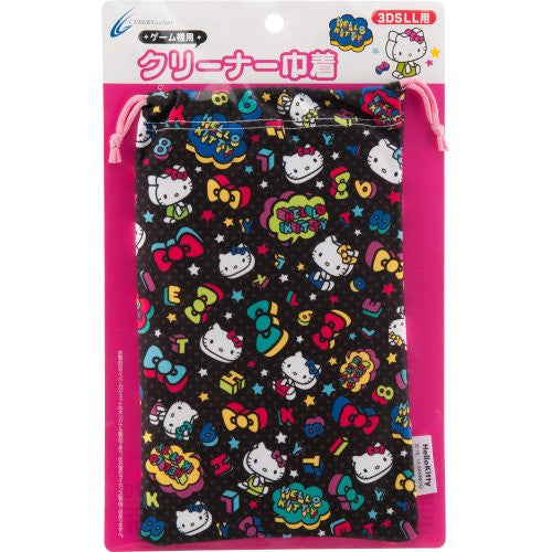 Image 1 for Hello Kitty Pouch for 3DS LL (Black)