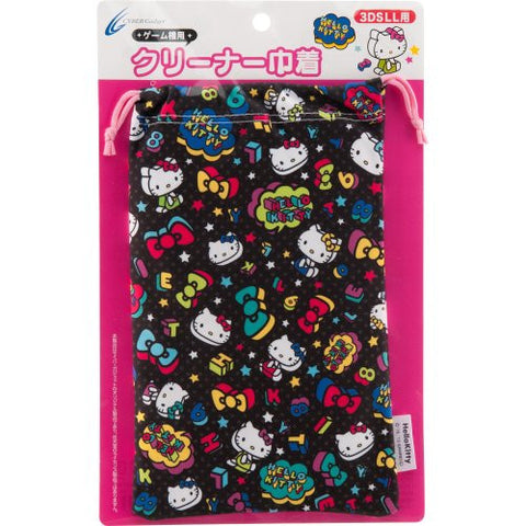 Image for Hello Kitty Pouch for 3DS LL (Black)