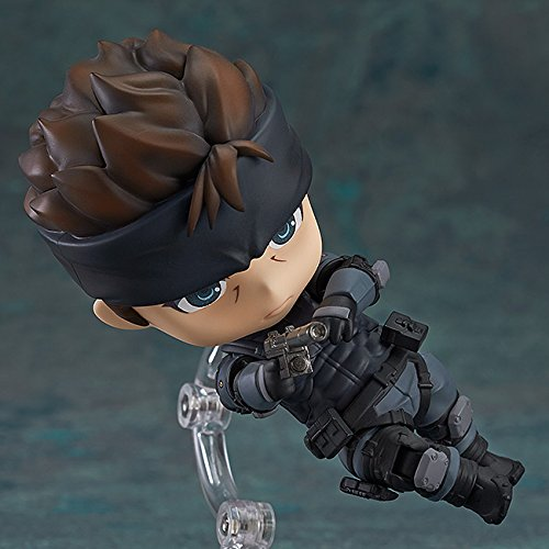 Image 3 for Metal Gear Solid - Solid Snake - Nendoroid #447 (Good Smile Company)