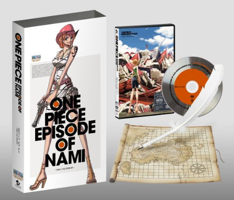 Image for One Piece Episode Of Nami: Tears Of A Navigator And The Bonds Of Friends / Kokaishi No Namida To Nakama No Kizuna [Limited Edition]