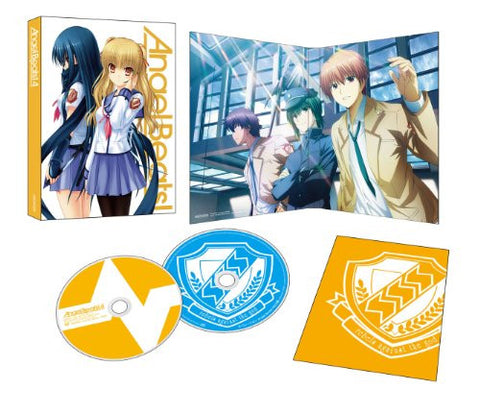 Image for Angel Beats Vol.4 [Blu-ray+CD Limited Edition]