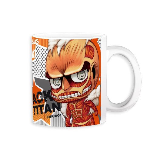 Image 1 for Shingeki no Kyojin - Colossal Titan - Mug - Chimi (Gift)