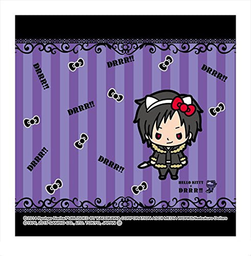 Image 1 for Durarara!! - Hello Kitty - Orihara Izaya - Towel - Mini Towel - Hello Kitty x Durarara!! (Asunarosya)