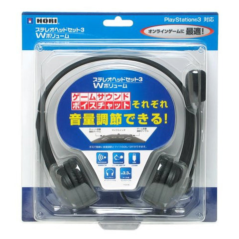 Image for Stereo Headset 3 W Volume