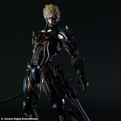Image 3 for Metal Gear Rising: Revengeance - Raiden - Play Arts Kai - Black Armour ver. (Square Enix)