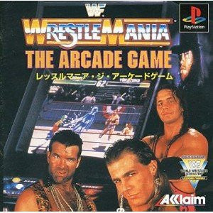 Image for WWF Wrestlemania: The Arcade Game