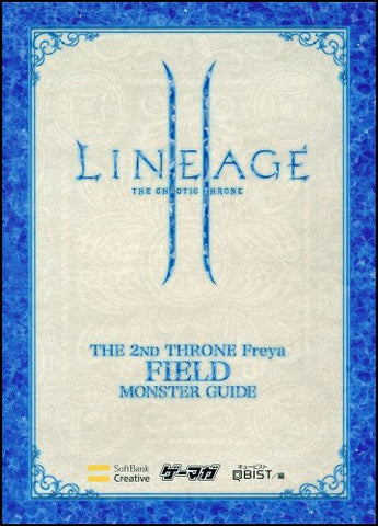 Image for Lineage Ii The 2nd Throne Freya Monster Guide Book Field Hen / Online Game