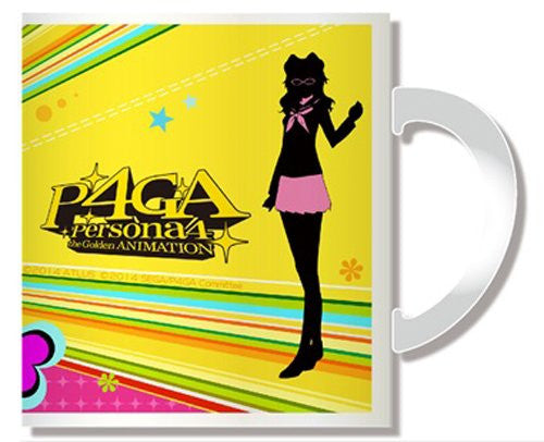 Image 2 for Persona 4: the Golden Animation - Kujikawa Rise - Mug (Penguin Parade)