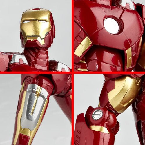Image 10 for The Avengers - Iron Man Mark VII - Legacy of Revoltech LR-041 - Revoltech - Revoltech SFX #42 (Kaiyodo)