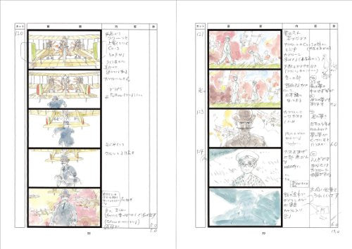 Image 3 for Kaze Tachinu / The Wind Rises   Storyboard / Conte Book