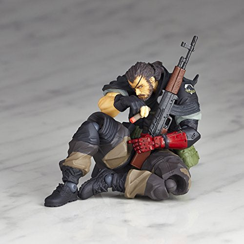 Image 10 for Metal Gear Solid V: The Phantom Pain - Naked Snake - Revolmini rm-012 - Revoltech - Venom ver. (Kaiyodo)
