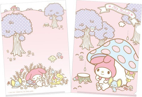 Image 4 for My Melody   Mini Clear File And Nail Seal Book
