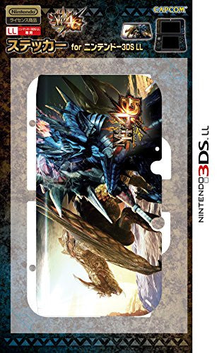 Image 1 for Monster Hunter 4G Sticker for 3DS LL