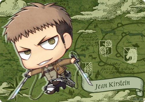 Image 1 for Shingeki no Kyojin - Jean Kirstein - Mousepad - Chimi (Gift)