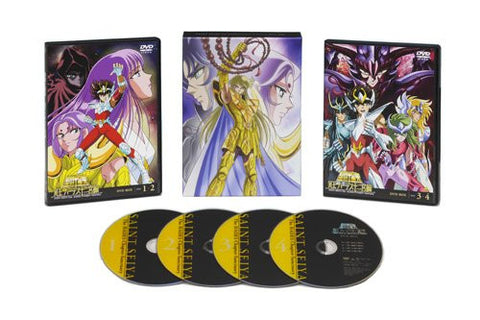 Image for Saint Seiya The Hades Chapter - Sanctuary Dvd Box