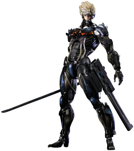 Image 1 for Metal Gear Rising: Revengeance - Raiden - Play Arts Kai - Black Armour ver. (Square Enix)