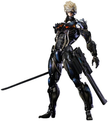 Image for Metal Gear Rising: Revengeance - Raiden - Play Arts Kai - Black Armour ver. (Square Enix)