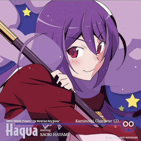 Image for Kaminomi Character CD.00 Haqua starring SAORI HAYAMI