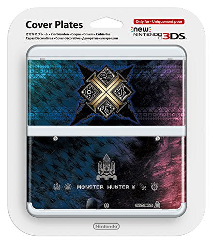Image 1 for New Nintendo 3DS Cover Plates No.065 (Monster Hunter X)