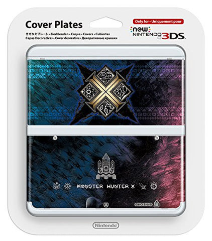 Image for New Nintendo 3DS Cover Plates No.065 (Monster Hunter X)