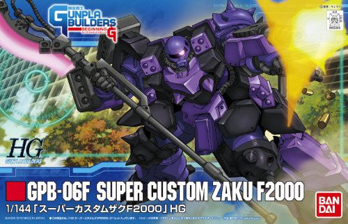 Image 2 for Model Suit Gunpla Senshi Gunpla Builders Beginning G - GPB-06F Super Custom Zaku F2000 - HGGB 03 - 1/144 (Bandai)